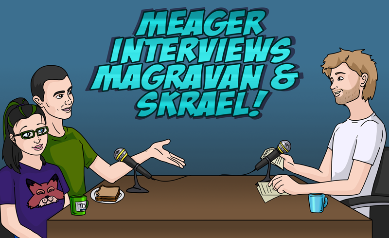 Meager interviews us!